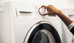 WASHING MACHINE INSTALLED
